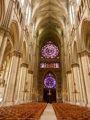 Notre Dame Cathedral in Reims France