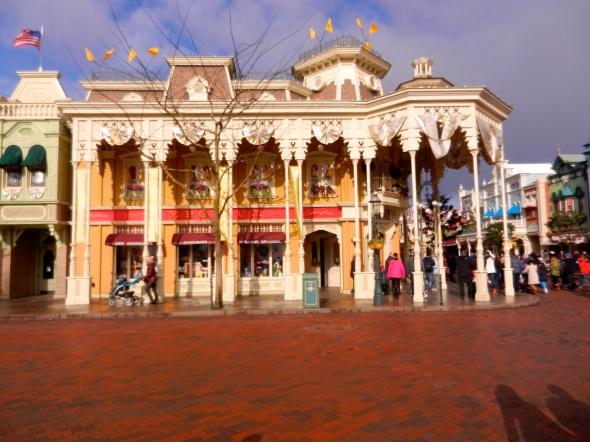 Main Street, Euro Disney