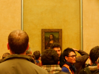 Mona Lisa..smaller than you expect