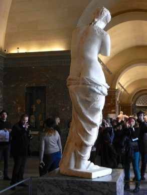 the perfect S curve, Venus de Milo