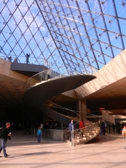lobby, Louvre