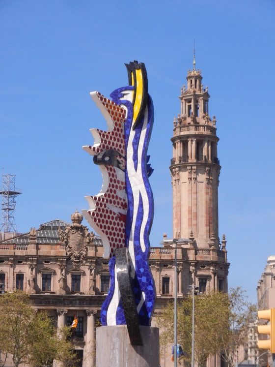Barcelona art is found throughout the city