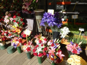 Las Ramblas flower shop