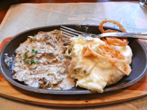 Mmm, nothing compares to the original! Russian Beef Stroganoff