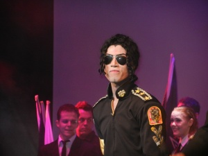 The king of pop! Michael Jackson entertained us