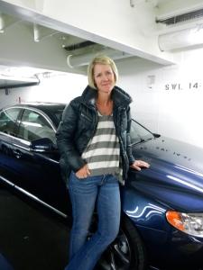 Kristen and Volvo