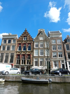 Rooftops of Dutch buildings