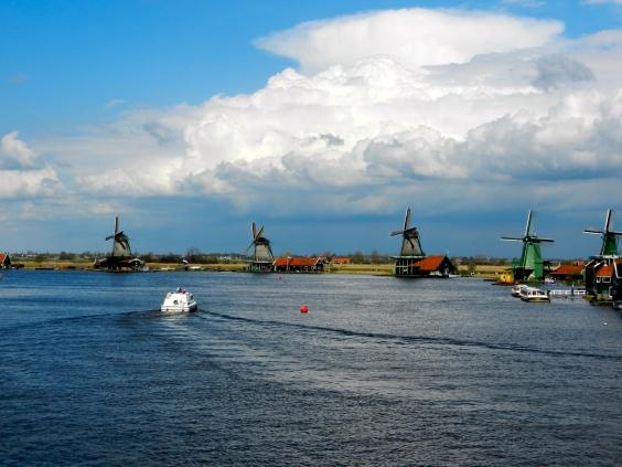 windmills of Zaans Schans