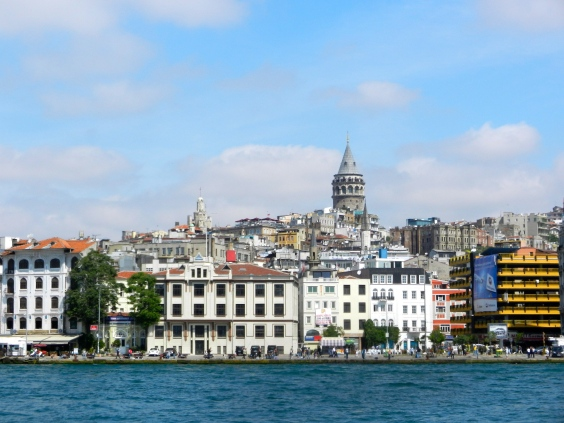Galata Tower from the boat
