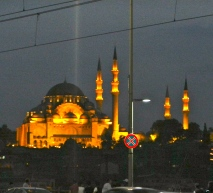 Mosque at night, Istanbul