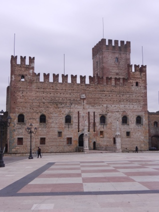 giant chessboard, Marostica, Italy