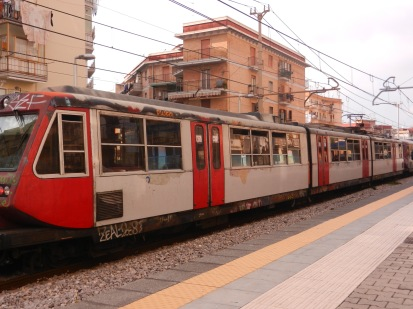 The Scavi Train, Naples Italy