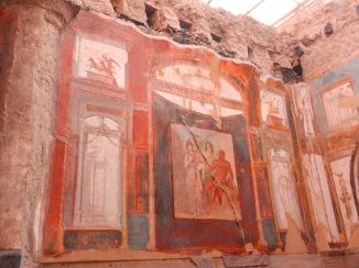 Painted interior wall, Herculaneum.