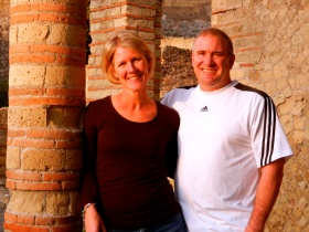 Kristen and Tim, Herculaneum