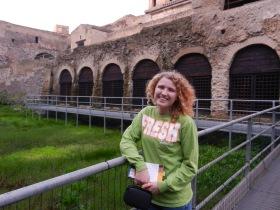 Lauren at HerculaneumThe