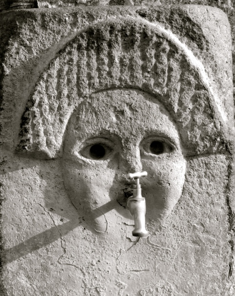 fanciful spigot, Pompeii