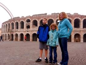 The Roman area, Verona
