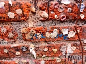 Romeo and Juliet wall, Verona