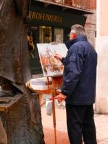 Quintessential Italian artist, Verona