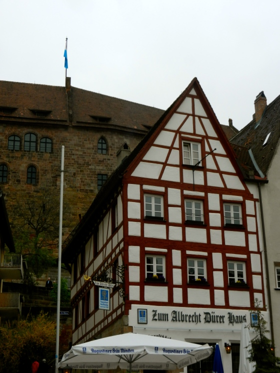 What we love most about Bavarian architecture--half timbered houses
