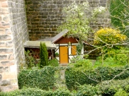 A garden cottage or house of an elf
