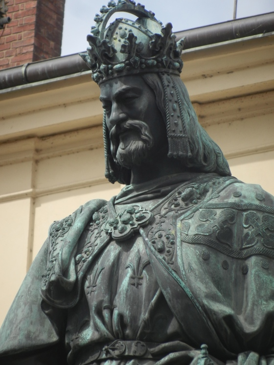 King Charles IV, Holy Roman Emperor and ruler of Bohemia circa 1360