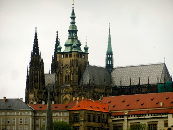 Prague Castle as seen from Charles Bridge