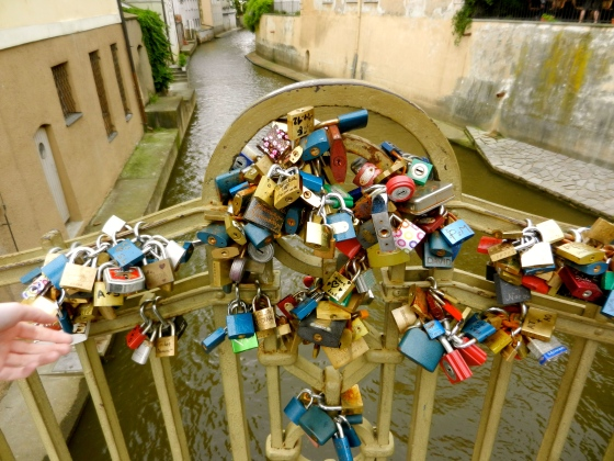 Every great European city seems to sport these locks on the bridges