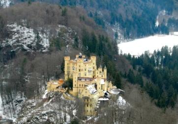 Hohenschwangau Castle, the baby castle next door