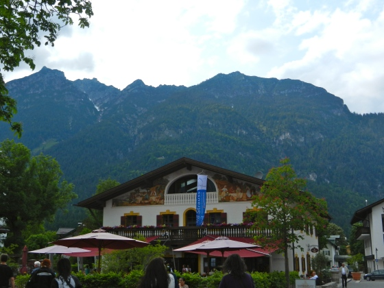 Downtown Garmisch