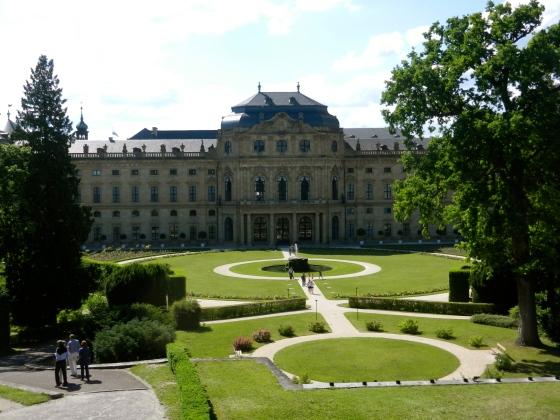 Wurzburg Palace grounds
