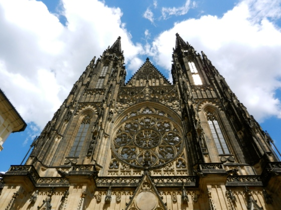 St Vitus Cathedral makes quite an impression for first time visitors