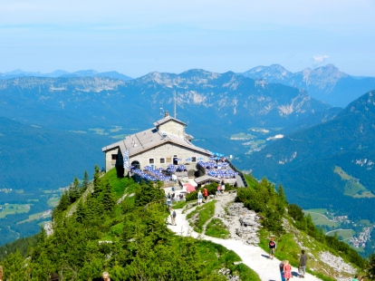 The Eagle's Nest, Adolf Hitler's mountain getaway