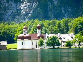 quaint church on the Königsee