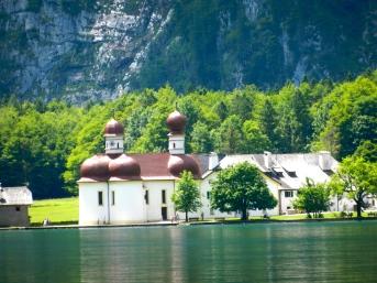 quaint church on the Königsee