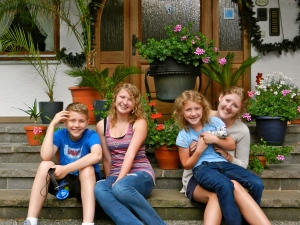 The kids in Berteschgaden