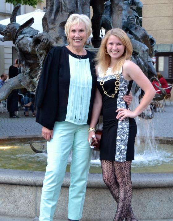 Lauren and Grandma