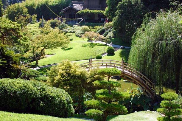 Japanese Bridge at Huntington Library, CA