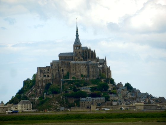 le Mont St Michel Abbey