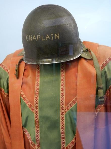 Chaplain helmet and robe