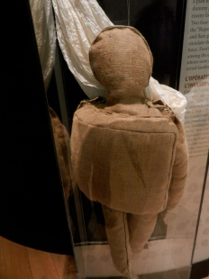Dummy used to fool enemies during Normandy invasion
