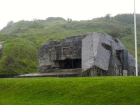 Typical WWII bunker...everything about it screams evil