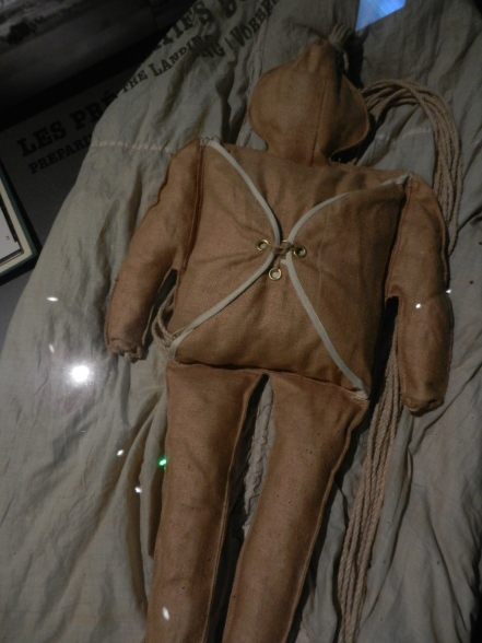 one of the dummy parachutists used to fool the enemy during Normandy invasion