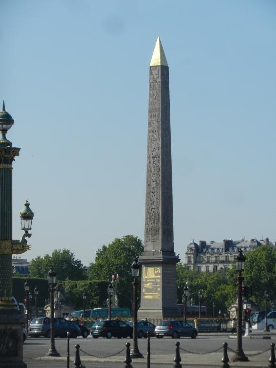 Obelisk from Egypt, Place de la Concorde