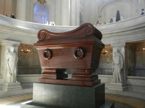 Napoleon's tomb...not the same stone as Herod's bathtub in Rome, but a close second