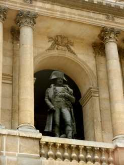 Napoleon overlooks his palace..now the Army museum