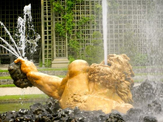 fountain starts