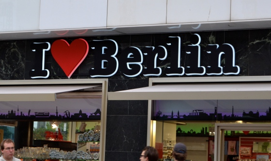 It's true...I love Berlin
