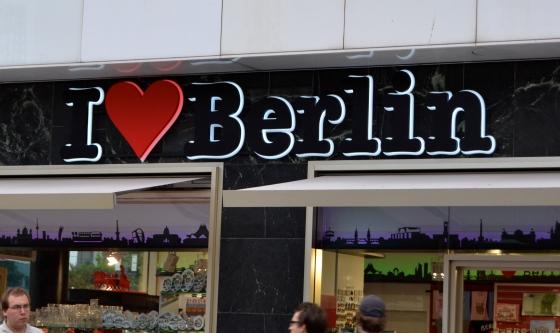 It's true...I love Berlin