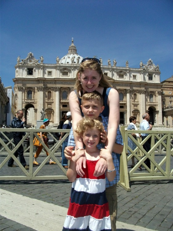 St Peter's Square, Rome.  2010